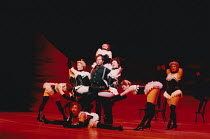 OKLAHOMA! music: Richard Rodgers book & lyrics: Oscar Hammerstein II design: Anthony Ward choreography: Susan Stroman lighting: David Hersey director: Trevor Nunn <br> 'Dream Sequence', Shuler Hensley...