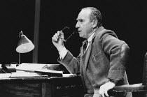 SHADOWLANDS by William Nicholson design: Mark Thompson director: Elijah Moshinsky <br> Nigel Hawthorne (C.S. Lewis) Queen's Theatre, London W1 23/10/1989 (c) Donald Cooper/Photostage photos@photostage...