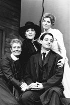 THREE SISTERS by Anton Chekhov design & lighting: Giorgi Meskhishvili director: Robert Sturua <br> l-r: Vanessa Redgrave (Olga), Lynne Redgrave (Masha), (rear) Jemma Redgrave (Irina), Jeremy Northam (...