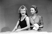 WHEN I WAS A GIRL, I USED TO SCREAM AND SHOUT by Sharman Macdonald design: Robin Don director: Simon Stokes <br> l-r: Julie Walters (Fiona), Sheila Reid (Morag) Whitehall Theatre, London SW1 09/12/1...