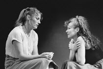 WHEN I WAS A GIRL, I USED TO SCREAM AND SHOUT by Sharman Macdonald design: Robin Don director: Simon Stokes <br> l-r: Geraldine James (Vari), Julie Walters (Fiona) Whitehall Theatre, London SW1 09/1...