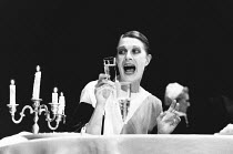 WHEN SHE DANCED by Martin Sherman design: Bob Crowley lighting: Arden Fingerhut director: Robert Allan Ackerman <br> Vanessa Redgrave (Isadora Duncan) Gielgud Theatre, London W1 06/08/1991 (c) Donald...