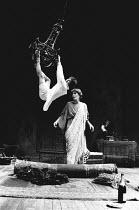 WHEN SHE DANCED by Martin Sherman design: Bob Crowley lighting: Arden Fingerhut director: Robert Allan Ackerman <br> Oleg Menshikov (Serfei Essenin), Vanessa Redgrave (Isadora Duncan) Gielgud Theatre...