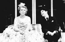 TOM AND VIV by Michael Hastings design: Antony McDonald & Jock Scott lighting: Robin Myerscough-Walker director: Max Stafford-Clark <br> l-r: Margaret Tyzack (Rose), Julie Covington (Viv) Royal Cour...