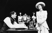 THE MADRAS HOUSE by Harley Granville Barker design: Pamela Howard director: Peter James <br> Roger Allam (Philip Madras), Eve Matheson (Jessica Madras) Royal Lyceum Theatre, Edinburgh 24/08/1992 / Lyr...