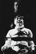 THE MADNESS OF GEORGE III by Alan Bennett design: Mark Thompson lighting: Paul Pyant director: Nicholas Hytner <br> Nigel Hawthorne (King George III) Lyttelton Theatre, National Theatre (NT), London...