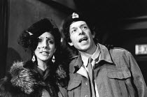 THE PEOPLE SHOW No. 92 - WHISTLE STOP <br> Charlie Dore, Mark Long Bush Theatre, London W12 01/05/1987 (c) Donald Cooper/Photostage photos@photostage.co.uk ref/BW-P-211-22