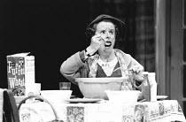 ONE WAY PENDULUM by N. F. Simpson design: Richard Hudson lighting: Bill Wardroper director: Jonathan Miller <br>Ann Way (Myra Gantry)The Old Vic, London SE1 03/05/1988 (c) Donald Cooper/Photostage pho...