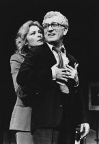 BORN IN THE GARDENS by Peter Nichols design: John Gunter director: Clifford Williams <br> Jan Waters (Queenie), Barry Foster (Mo) Globe Theatre, London W1 23/01/1980 (c) Donald Cooper/Photostage photo...