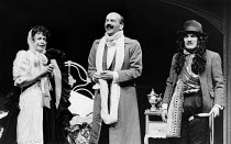 SCENES FROM A MARRIAGE by Georges Feydeau adapted by Peter Barnes design: Gerard Howland & Paul Minter lighting: Terry Hands with Clive Morris director: Terry Hands <br> l-r: Janet Dale (Yvonne), Roge...