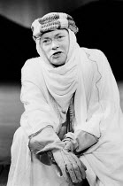 ROSS by Terence Rattigan design: Mark Thompson lighting: Michael Northern director: Roger Redfarn <br> Simon Ward (Lawrence of Arabia) The Old Vic, London SE1 03/06/1986 (c) Donald Cooper/Photostage p...