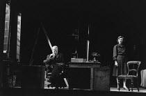 THE BROWNING VERSION by Terence Rattigan design: Carl Toms lighting: Brian Ridley director: Michael Rudman <br> Alec McCowen (Andrew Crocker-Harris), Geraldine McEwan (Millie Crocker-Harris) Lyttelton...