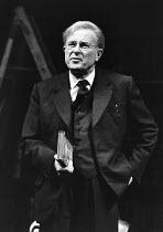 THE BROWNING VERSION by Terence Rattigan design: Carl Toms lighting: Brian Ridley director: Michael Rudman <br> Alec McCowen (Andrew Crocker-Harris) Lyttelton Theatre, National Theatre (NT), London SE...