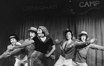 THE ERPINGHAM CAMP by Joe Orton design: Judith Crozier director: Stewart Trotter <br>holiday camp redcoatsKing's Head Theatre, London N1 10/01/1979 (c) Donald Cooper/Photostage photos@photostage.co.uk...