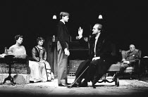 THE WINSLOW BOY by Terence Rattigan design: Carl Toms lighting: Dave Horn director: Michael Rudman <br>l-r: Diane Fletcher (Catherine Winslow), Barbara Jefford (Grace Winslow), Jason Lake (Ronnie Wins...