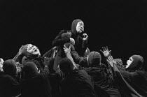 MEDEA by Euripides scenario by Mutsuo Takahashi art direction: Jusaburo Tsujimura set design: Setsu Asakura lighting: Sumio Yoshii director: Yukio Ninagawa <br> Tokusaburo Arashi (Medea) Olivier Theat...