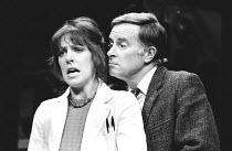 TISHOO by Brian Thompson design: John Gunter lighting: Brian Harris director: Ronald Eyre <br> Penelope Wilton (Barbara), Alec McCowen (Dr. Frank Merrick) Wyndham's Theatre, London WC2 24/10/1979 (c)...