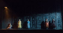 JACK THE RIPPER: The Women of Whitechapel music: Iain Bell libretto: Emma Jenkins conductor: Martyn Brabbins design: Soutra Gilmour lighting: Paul Anderson director: Daniel Kramer <br> the women of W...