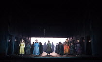 JACK THE RIPPER: The Women of Whitechapel music: Iain Bell libretto: Emma Jenkins conductor: Martyn Brabbins design: Soutra Gilmour lighting: Paul Anderson director: Daniel Kramer <br> the women of Wh...