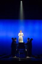 JACK THE RIPPER: The Women of Whitechapel music: Iain Bell libretto: Emma Jenkins conductor: Martyn Brabbins design: Soutra Gilmour lighting: Paul Anderson director: Daniel Kramer <br> final scene, st...