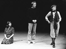 AS YOU LIKE IT by Shakespeare design: Karen Mills director: John David <br> l-r: Jennie Stoller (Celia), Pip Miller (Orlando), Susan Hampshire (Rosalind) Shaw Theatre, London NW1 04/06/1975 (c) Donald...