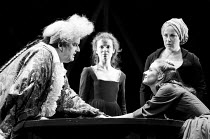 THE GRACE OF MARY TRAVERSE by Timberlake Wertenbaker design: Kandis Cook lighting: Christopher Toulmin director: Danny Boyle <br> l-r: Harold Innocent (Giles Traverse / Lord Exrake), Eve Matheson (Sop...
