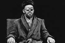 ENDGAME by Samuel Beckett directed by Rick Cluchey & Samuel Beckett <br> Rick Cluchey (Hamm) San Quentin Drama Workshop / Open Space Theatre, London NW1 18/10/1978 (c) Donald Cooper/Photostage photos@...