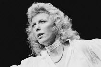 ENOUGH written & directed by Samuel Beckett <br>Billie Whitelaw Beckett Trilogy / Riverside Studios, London W6 29/01/1986 (c) Donald Cooper/Photostage photos@photostage.co.uk ref/BW-P-037-19