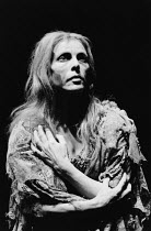 FOOTFALLS written & directed by Samuel Beckett <br>Billie Whitelaw (May) Beckett Trilogy / Riverside Studios, London W6 29/01/1986 (c) Donald Cooper/Photostage photos@photostage.co.uk ref/BW-P-038-15