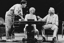 LONG DAY'S JOURNEY INTO NIGHT by Eugene O'Neill set design: Tony Straiges costumes: Willa Kim lighting: Richard Nelson director: Jonathan Miller <br>l-r: Peter Gallagher (Edmund Tyrone), Bethel Leslie...