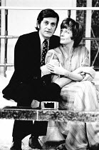 SNAP by Charles Laurence design: Hutchinson Scott lighting: Andy Phillips director: William Gaskill <br> Barrie Ingham (Ben), Maggie Smith (Connie) Vaudeville Theatre, London WC2 13/03/1974 (c) Donald...