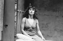 FOOL FOR LOVE by Sam Shepard design: Alison Chitty lighting: Stephen Wentworth director: Peter Gill <br>Julie Walters (May) Cottesloe Theatre, National Theatre (NT), London SE1 04/10/1984(c) Donald Co...