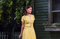 ALL MY SONS by Arthur Miller design: Max Jones lighting: Richard Howell director: Jeremy Herrin <br> Jenna Coleman (Ann Deever) The Old Vic, London SE1 23/04/2019 (c) Donald Cooper/Photostage photos@p...