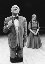 THE ORDEAL OF GILBERT PINFOLD by Ronald Harwood from the novel by Evelyn Waugh design: Stephen Doncaster lighting: Mark Henderson director: Michael Elliott <br> Michael Hordern (Gilbert Pinfold), Lind...