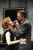 SEPARATE TABLES by Terence Rattigan design: Carl Toms lighting: Alan Burrett director: Peter Hall <br> TABLE BY THE WINDOW: Patricia Hodge (Anne Shankland), Peter Bowles (John Malcolm) The Peter Hall...