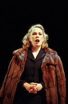 CAUSE CELEBRE by Terence Rattigan design: Rae Smith lighting: Chris Davey director: Neil Bartlett <br> Amanda Harris (Alma Rattenbury) Lyric Theatre Hammersmith, London W6 10/02/1998 (c) Donald Coop...