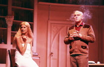 A PIECE OF MY MIND by Peter Nichols design: Martin Johns lighting: Mark Henderson choreography: Pat Garrett director: Justin Greene <br> Gwyneth Strong, George Cole (Ted Forrest) Apollo Theatre, Londo...