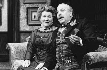WHEN WE ARE MARRIED by J B Priestley design: Terry Parsons director: Ronald Eyre <br> Patricia Routledge (Maria Helliwell), James Grout (Alderman Joseph Helliwell) Whitehall Theatre, London SW1 05/03/...