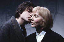 A HARD HEART by Howard Barker design: Anthony Ward director: Ian McDiarmid <br> James Clyde (Attila), Anna Massey (Riddler) Almeida Theatre, London N1 03/03/1992 (c) Donald Cooper/Photostage photos@ph...