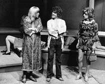 THE DISORDERLY WOMEN by John Bowen <br> l-r: Geoffrey Burridge, Barry Andrews, William Roache Hampstead Theatre Club, London NW3 09/11/1970 (c) Donald Cooper/Photostage photos@photostage.co.uk ref/BW-...
