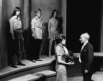 THE DISORDERLY WOMEN by John Bowen <br> front right: Joan Heal (with severed head), Peter Howell Hampstead Theatre Club, London NW3 09/11/1970 (c) Donald Cooper/Photostage photos@photostage.co.uk ref/...