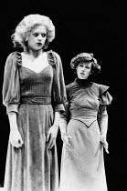 HEDDA adapted by Charles Marowitz from 'Hedda Gabler' by Henrik Ibsen design: Timian Alsaker director: Charles Marowitz <br> l-r: Kathryn Pogson (Thea Elvstead), Jenny Agutter (Hedda Gabler) Roundhous...