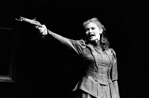 HEDDA GABLER by Henrik Ibsen design: Dermot Hayes lighting: Torill K. Lund director: Clare Davison <br> Marit Gronhaug (Hedda Gabler) Rogaland Teater Company, Stavanger / Bloomsbury Theatre, London WC...