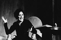 HEDDA GABLER by Henrik Ibsen design: Hildegard Bechtler lighting: Jean Kalman director: Deborah Warner <br> Fiona Shaw (Hedda Gabler) Abbey Theatre Dublin production / Playhouse Theatre, London WC2 03...