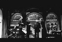 HOBSON'S CHOICE by Harold Brighouse set design: Kenneth Mellor costumes: Mark Negin lighting: Mark Dawson director: David Giles <br> l-r: Ronald Pickup (William Mossop), Stephen Reynolds (Fred Beensto...