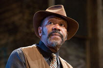 KING HEDLEY II by August Wilson design: Peter McKintosh lighting: Howard Harrison director: Nadia Fall <br> Lenny Henry (Elmore) Theatre Royal Stratford East, London E15 23/05/2019 (c) Donald Cooper/P...