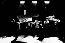 THE POSSESSED by Fyodor Dostoyevsky design: Stefanos Lazaridis director: Yuri Lyubimov <br> company Almeida Theatre, London N1 21/03/1985 (c) Donald Cooper/Photostage photos@photostage.co.uk ref/BW-...