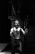 CORIOLANUS by Shakespeare design: Bunny Christie lighting: Ben Ormerod director: Tim Supple <br> Kenneth Branagh (Caius Martius Coriolanus) Chichester Festival Theatre (CFT), Chichester, West Sussex,...
