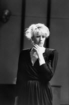 Vanessa Redgrave rehearsing the role of Lady Torrance for the 1989 American transfer of ORPHEUS DESCENDING by Tennessee Williams. A 1988 Peter Hall Company production at the Theatre Royal Haymarket, L...