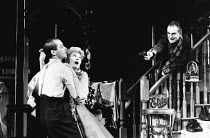 ORPHEUS DESCENDING by Tennessee Williams design: Alison Chitty director: Peter Hall <br> l-r: Jean-Marc Barr (Valentine Xavier), Vanessa Redgrave (Lady Torrance), Paul Freeman (Jabe Torrance) Peter Ha...
